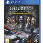 Carátula de Injustice: Gods Among Us GOTY para PS4