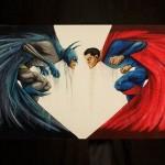 Diseño conceptual de Batman/Superman
