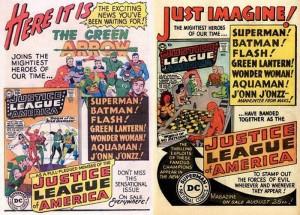 Flecha Verde se une a la Liga de la Justicia de América
