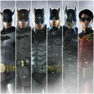 Pack Skins New Millenium para Batman: Arkham Origins