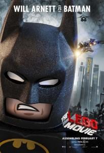Póster de Batman de La LEGO Película