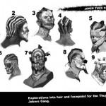 Diseño conceptual para Batman: Arkham Origins