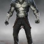 Diseño de Killer Croc para Batman: Arkham Origins