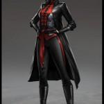 Diseño de Lady Shiva para Batman: Arkham Origins