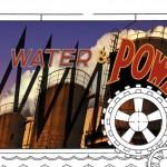 Diseños conceptuales para Batman y Robin