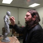 Escultura de Bane para El Caballero Oscuro: La Leyenda Renace