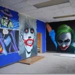 Graffiti relacionado con Batman
