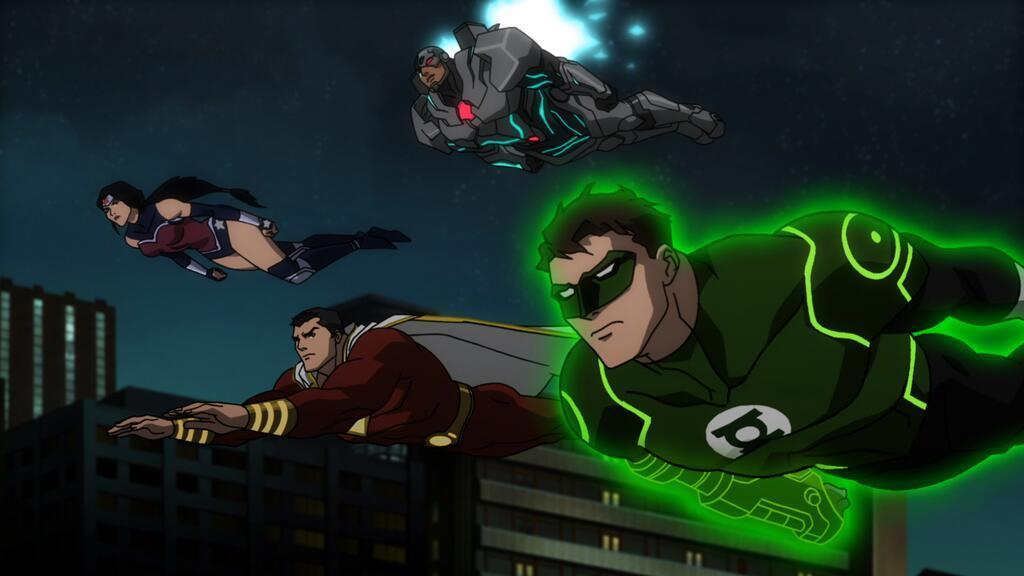 Wonder Woman, Linterna Verde, Shazam y Cyborg en una nueva ...