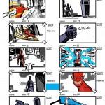 Storyboard del juego cancelado de Flash