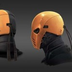 Diseño conceptual del traje de Deathstroke para Arrow