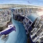 Diseño conceptual de Jim Martin para Superman: Flyby