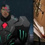 Cyborg y Shemar Moore en Justice League: War