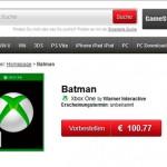 Posible nuevo juego de Batman