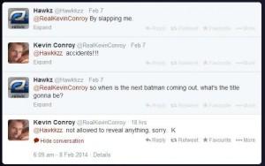 Kevin Conroy en Twitter
