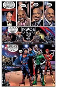 La NBA y la Liga de la Justicia