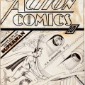Portada original de Action Comics Nº 15
