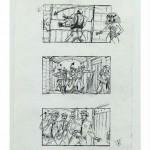 Storyboard de Batman y Robin