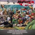 Harley Quinn Invades San Diego Comic Con Cover Nº 1