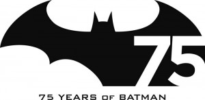 Logo del 75º aniversario de Batman