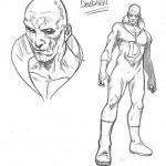 Bocetos de Andrés Guinaldo para Justice League Dark