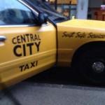 Taxi de Central City para The Flash