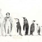 Diseño conceptual para el Pingüino de Batman Vuelve