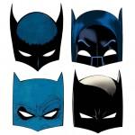 Máscaras el Día de Batman