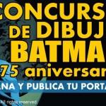 Concurso de dibujo de Batman de ECC Ediciones