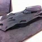 Posible maqueta del Batmóvil de Batman/Superman