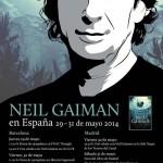 Neil Gaiman visita España