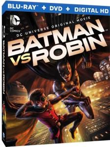 Blu-ray de Batman Vs. Robin