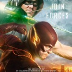 Póster del crossover 2015 de Arrow y The Flash