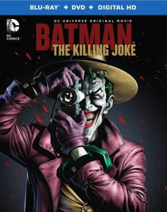 Portada del Blu-ray de Batman: La Broma Asesina