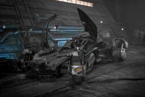 Batmóvil de La Liga de la Justicia