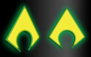 Señal LED de Aquaman
