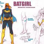 Diseño nuevo traje Batgirl