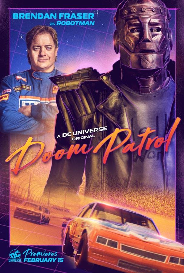 Robotman en Doom Patrol