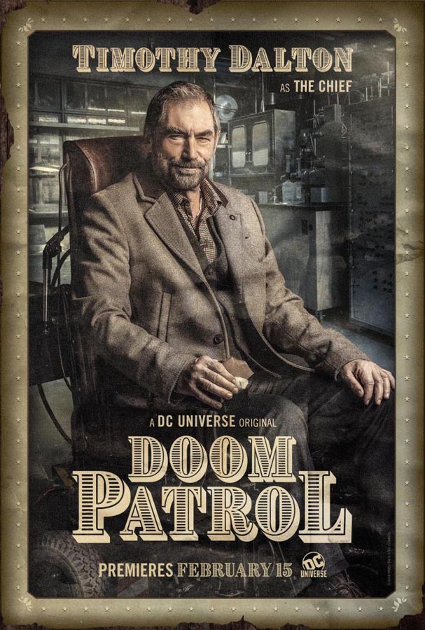 El Jefe en Doom Patrol