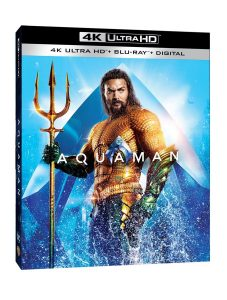 Blu-ray de Aquaman