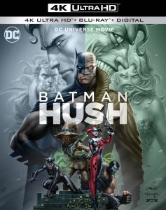Blu-ray de Batman: Silencio