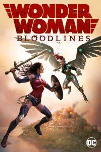 Carátula de la película animada Wonder Woman: Bloodlines