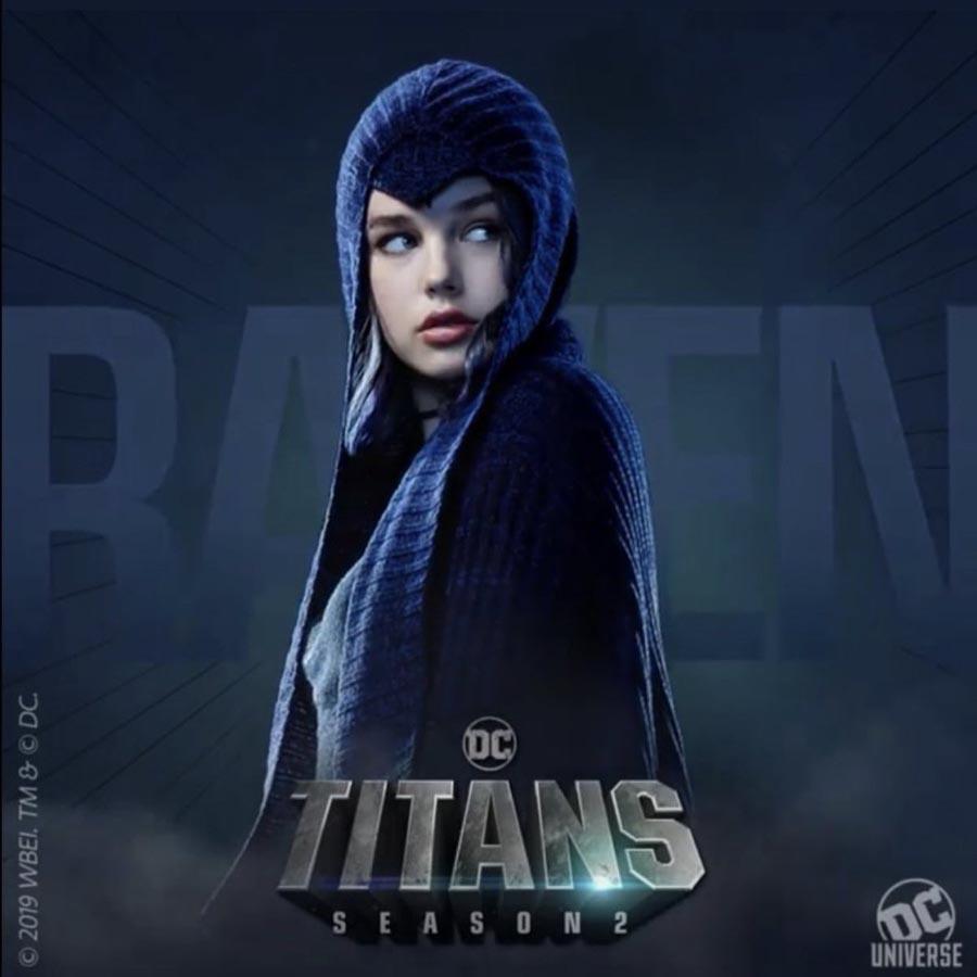 Raven en Titans