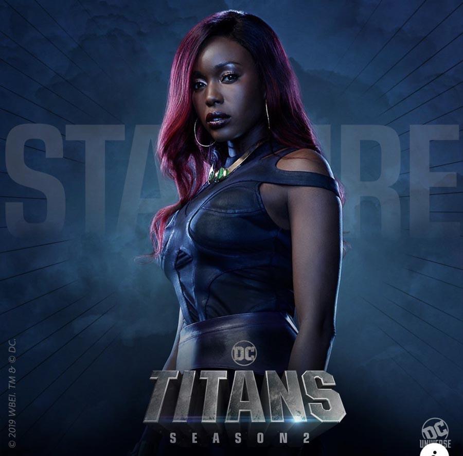 Starfire en Titans