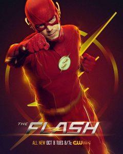 Póster de la temporada 6 de The Flash