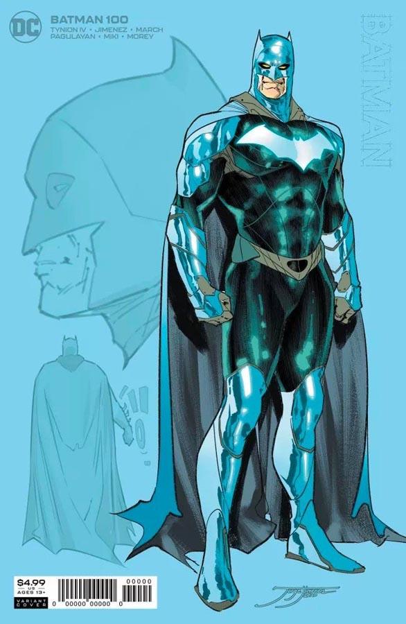 Batman 100 nuevo traje
