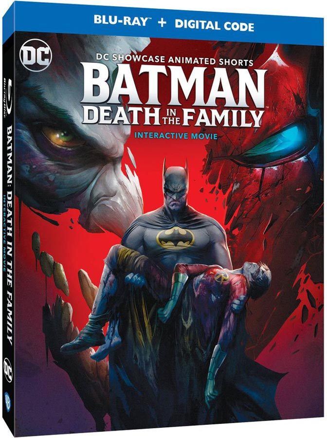Carátula del Blu-ray de Batman: Una Muerte en la Familia