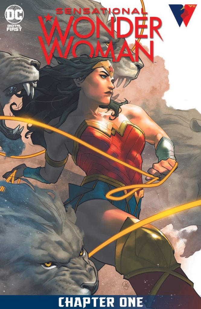 Portada de Sensational Wonder Woman Nº 1