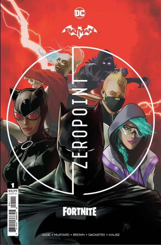 Portada de Batman/Fortnite: Zero Point Nº 1