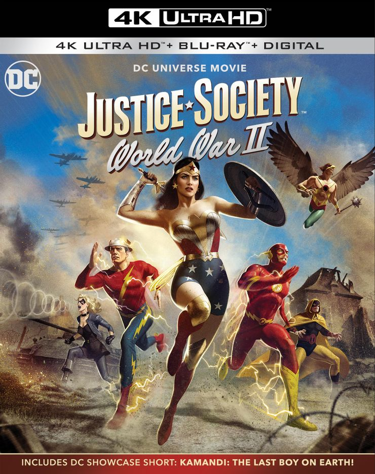 Carátula de Justice Society: World War II