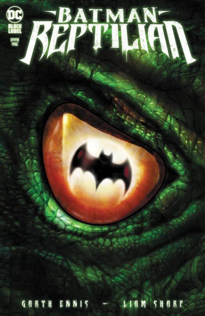 Portada de Batman: Reptilian Nº 1